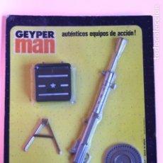 Geyperman: GEYPERMAN PANOPLIA BLISTER CON AMETRALLADORA DEGTYAREV 7,62 MM. PUNTA PARTIDA.. Lote 107017499