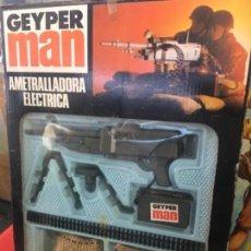 Geyperman: AMETRALLADORA ELÉCTRICA GEYPERMAN. Lote 107709591