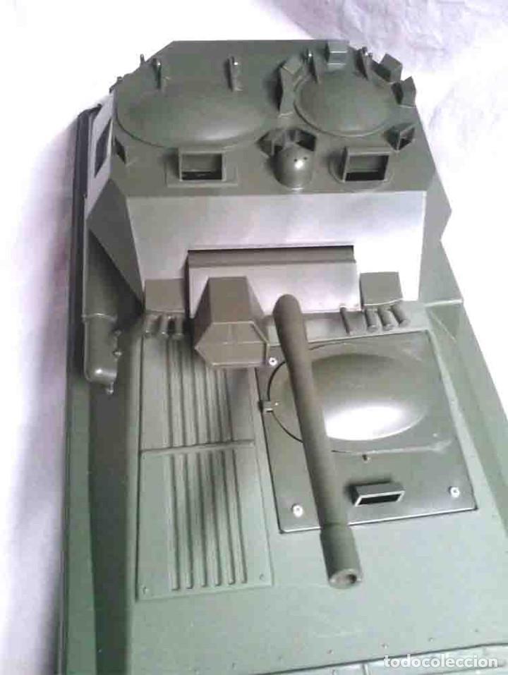 Geyperman: Tanque Scorpion de Geyperman año 75, no jugado resto tienda, con caja algo fatigada - Foto 3 - 109972387