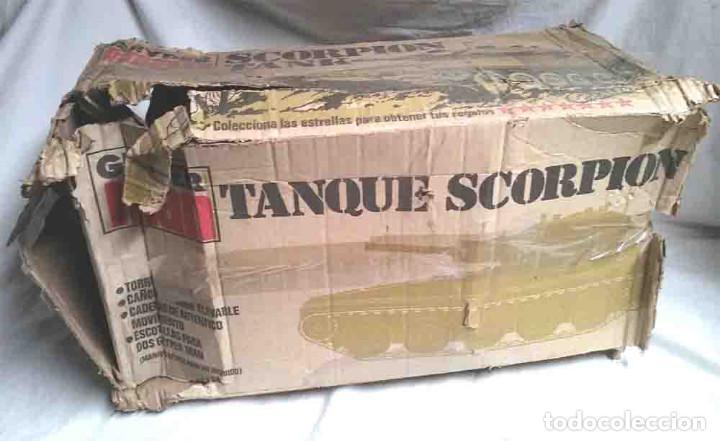 Geyperman: Tanque Scorpion de Geyperman año 75, no jugado resto tienda, con caja algo fatigada - Foto 10 - 109972387