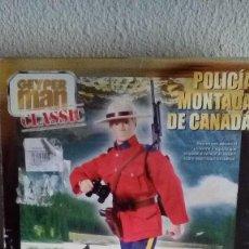 Geyperman: MUÑECO GEYPERMAN POLICIA MONTADA DE CANADA EDICION ESPECIAL 30 ANIVERSARIO. Lote 110221163