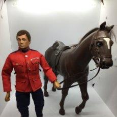 Geyperman: MUÑECO - GEYPERMAN POLICÍA MONTADA DE CANADÁ CON CABALLO - PRIMERA GENERACIÓN. Lote 118539376