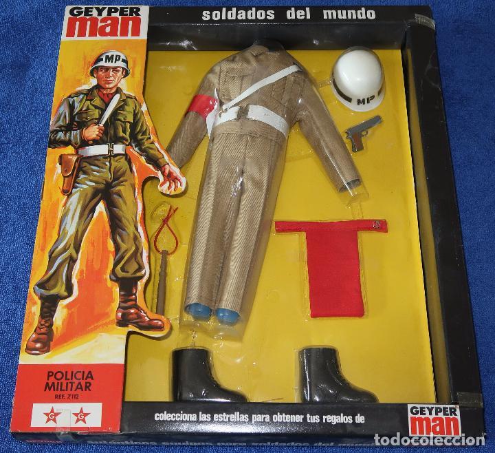 POLICIA MILITAR - GEYPERMAN ¡PRECINTADO E IMPECABLE! (Juguetes - Figuras de Acción - Geyperman)
