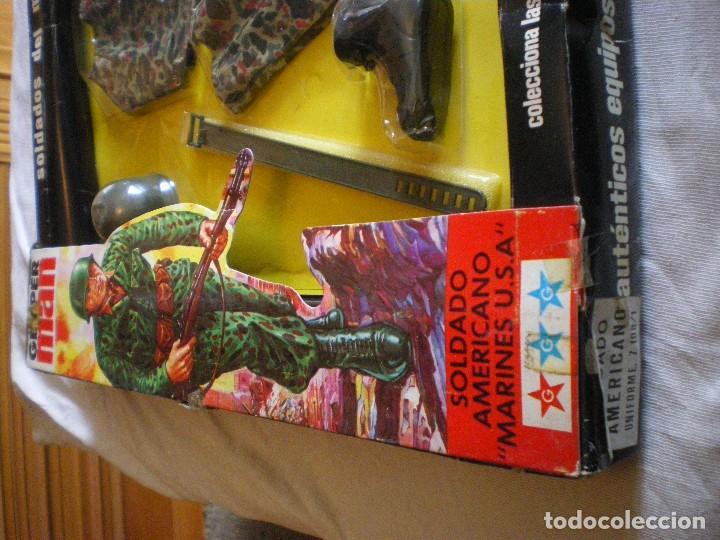 Geyperman: GEYPERMAN PRIMERA GENERACION CAJA DE TRAJE DE SOLDADO AMERICANO MARINES U.S.A. USADA - Foto 8 - 123501751