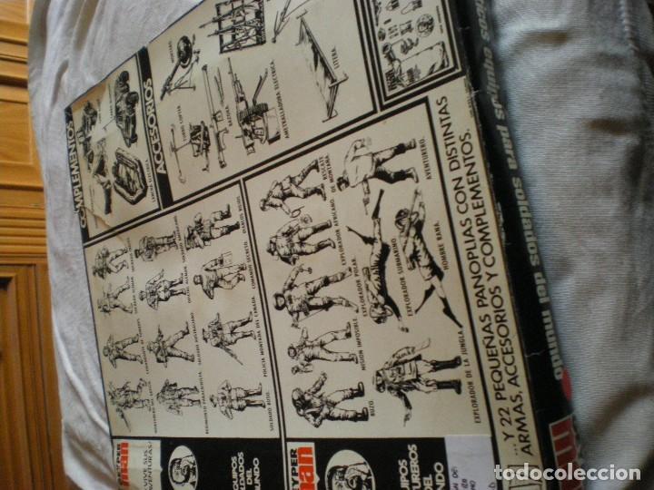 Geyperman: GEYPERMAN PRIMERA GENERACION CAJA DE TRAJE DE SOLDADO AMERICANO MARINES U.S.A. USADA - Foto 9 - 123501751
