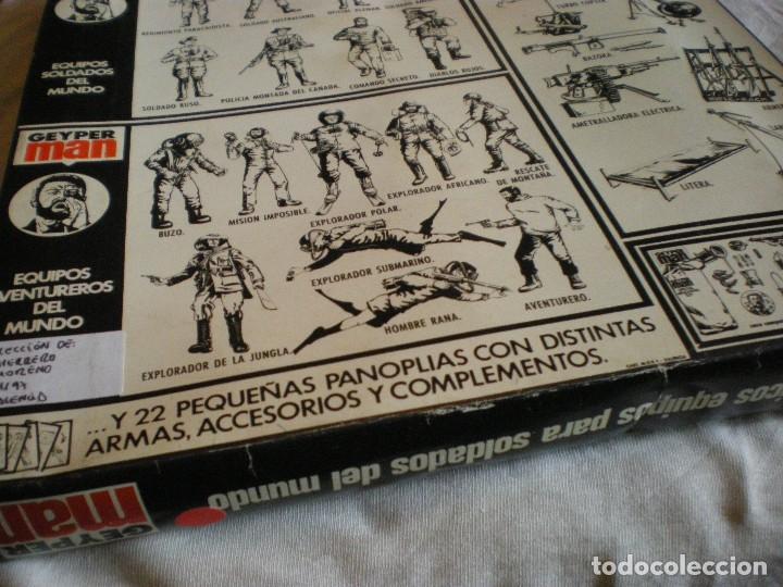 Geyperman: GEYPERMAN PRIMERA GENERACION CAJA DE TRAJE DE SOLDADO AMERICANO MARINES U.S.A. USADA - Foto 13 - 123501751