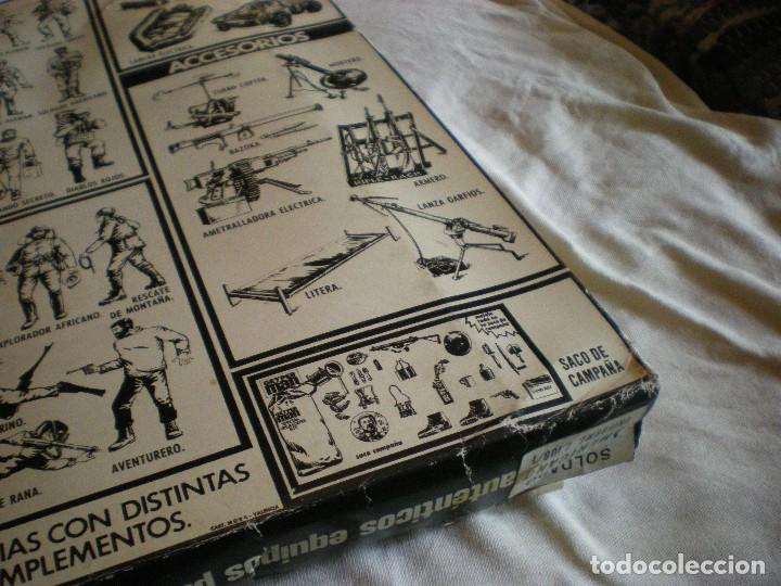 Geyperman: GEYPERMAN PRIMERA GENERACION CAJA DE TRAJE DE SOLDADO AMERICANO MARINES U.S.A. USADA - Foto 14 - 123501751
