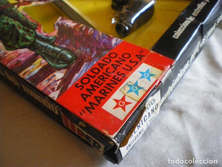 Geyperman: GEYPERMAN PRIMERA GENERACION CAJA DE TRAJE DE SOLDADO AMERICANO MARINES U.S.A. USADA - Foto 18 - 123501751