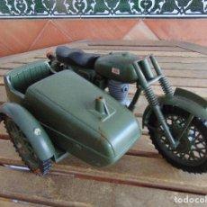 Geyperman: MOTO MOTOCICLETA CON SIDECAR DE GEYPERMAN PARA PIEZAS O COMPLETAR . Lote 126943111