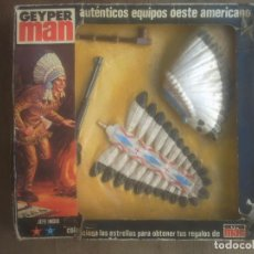 Geyperman: GEYPERMAN - JEFE INDIO CON CAJA. Lote 127617799
