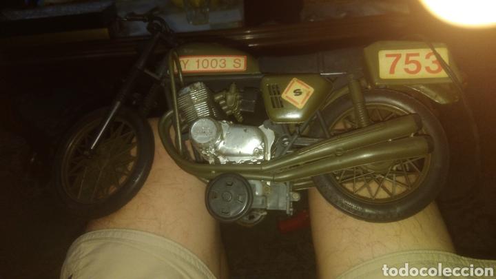 Geyperman: MOTO ELLEGI COMANDO SECRETO. años 60. COMPATIBLE CON GEYPERMAN. FUNCIONA CON PILAS. PROBADA. - Foto 3 - 129830262