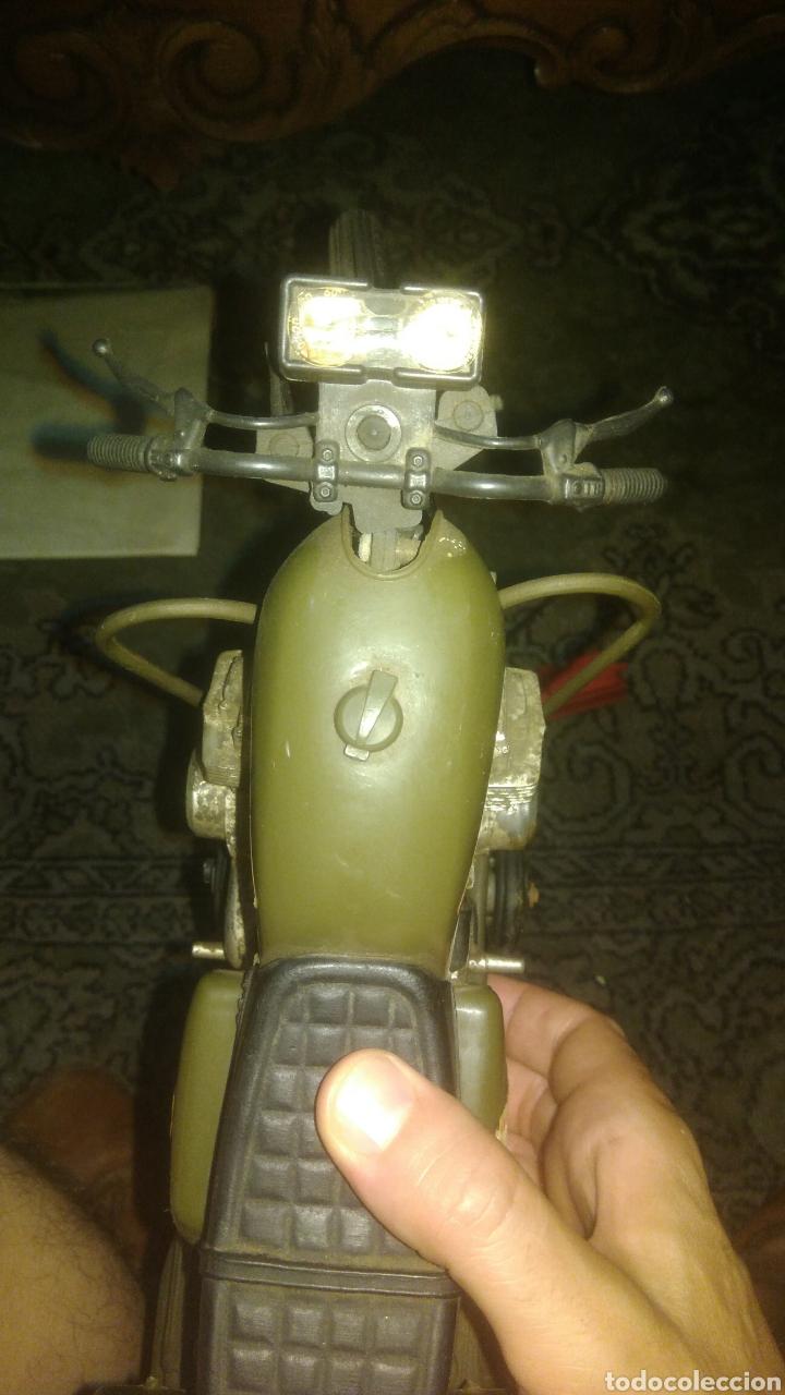 Geyperman: MOTO ELLEGI COMANDO SECRETO. años 60. COMPATIBLE CON GEYPERMAN. FUNCIONA CON PILAS. PROBADA. - Foto 4 - 129830262