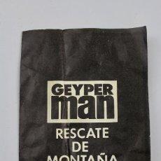 Geyperman: RESCATE DE MONTAÑA DETALLES Y CARACTERISTICAS DE ALGUNOS MODELOS DE FIGURAS Y ACCESORIOS GEYPERMAN. Lote 132353530