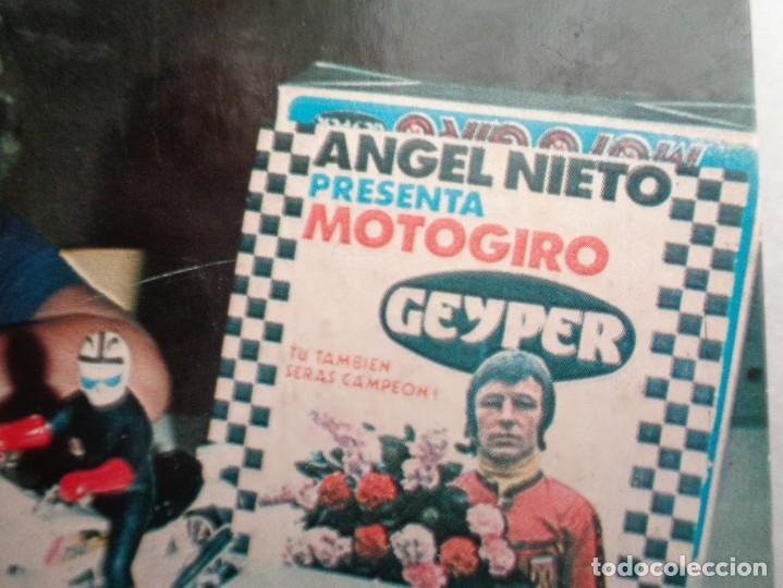 MOTO GIRO. LA GRAN CARRERA.832 (Juguetes - Figuras de Acción - Geyperman)