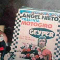 Geyperman: MOTO GIRO. LA GRAN CARRERA.832. Lote 134400942