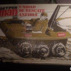 Geyperman: GEYPERMAN ORIGINAL. CAJA DE UNIDAD DE RESCATE ANFIBIA. BIEN CONSERVADA. VER FOTOS.. Lote 137784810