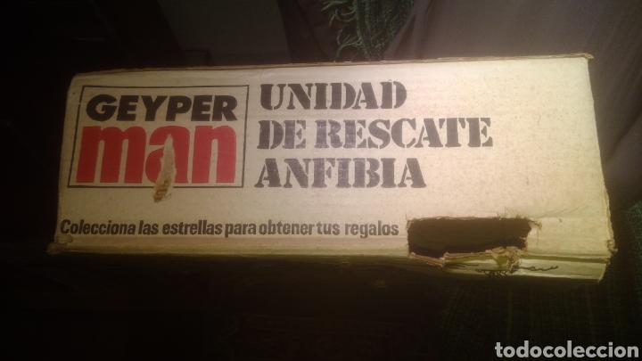 Geyperman: GEYPERMAN ORIGINAL. CAJA DE UNIDAD DE RESCATE ANFIBIA. BIEN CONSERVADA. VER FOTOS. - Foto 2 - 137784810