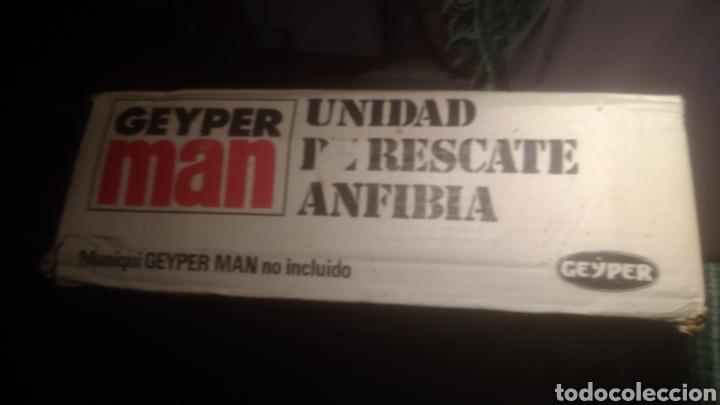 Geyperman: GEYPERMAN ORIGINAL. CAJA DE UNIDAD DE RESCATE ANFIBIA. BIEN CONSERVADA. VER FOTOS. - Foto 3 - 137784810