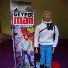 Geyperman: GEYPERMAN REEDICION AVENTURERO RUBIO DE PRIMERA GENERACION EN CAJA DESCATALOGADO. Lote 138716578