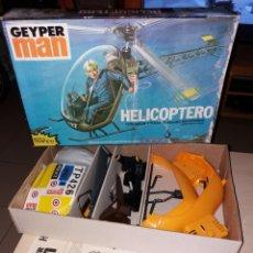 Geyperman: HELICÓPTERO GEYPERMAN - MODELO TRAFICO - AÑOS 70 - NUEVO¡¡. Lote 139005645