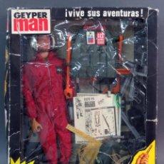 Geyperman: CAJA GEYPERMAN DIABLOS ROJOS CAJA ORIGINAL 1ª GENERACIÓN COMPLEMENTOS CATÁLOGO AÑOS 70. Lote 140737170