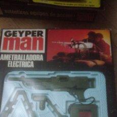Geyperman: GEYPERMAN ORIGINAL. PANOPLIA A ESTRENAR AMETRALLADORA ELECTRICA. Lote 145553530