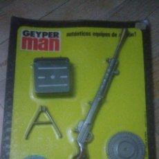 Geyperman: GEYPERMAN ORIGINAL. PANOPLIA REF 7307. NUEVO A ESTRENAR. Lote 145553890