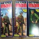 Geyperman: GEYPER MAN COMANDO 7017, SOLDADO ONU 7015, SOLDADO DE LA PAZ 7019 REEDICION. Lote 146450362
