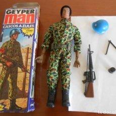 Geyperman: GEYPERMAN SOLDADO ONU EN SU CAJA MANIQUI EN ESTADO DE CONSERVACION INCREIBLE TODO ORIGINAL. Lote 146941970