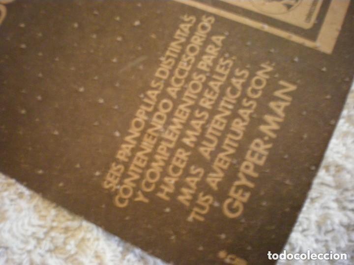Geyperman: PANOPLIA GEYPERMAN CON PLASTICO ORIGINAL USADA REF. 7308 - Foto 5 - 147176266