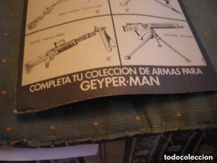 Geyperman: PANOPLIA GEYPERMAN CON PLASTICO ORIGINAL USADA REF. 7307 - Foto 3 - 147176594
