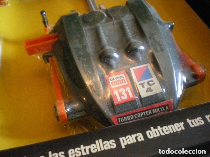 Geyperman: GEYPERMAN PRIMERA GENERACION CAJA DE TURBO COPTER REF. 7300 CON PLASTICO ORIGINAL - Foto 6 - 147178186