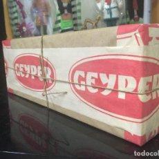 Geyperman: CAJA SORPRESA GEYPERMAN ORIGINAL Y A ESTRENAR. Lote 149236378