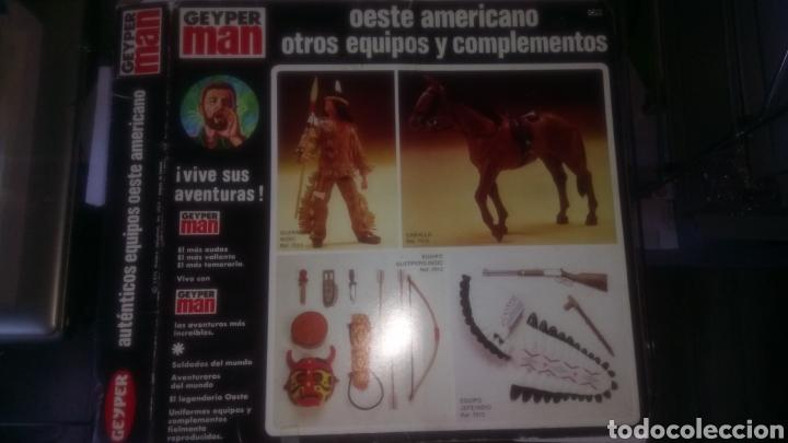 Geyperman: CAJA VACÍA EQUIPO COMPLETO GEYPERMAN OESTE AMERICANO. - Foto 2 - 149802528