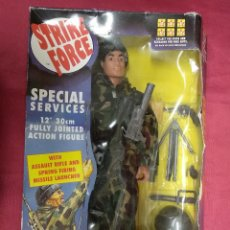 Geyperman: STRIKE FORCE. SPECIAL SERVICES. 12. 30 CM FULLY JOINTED ACTION FIGURE. SUNNY SMILE. NUEVO. Lote 150094654
