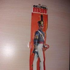 Geyperman: SOLAPA DE CARTÓN DE LA CAJA GEYPERMAN CADETE WEST POINT. Lote 150668097