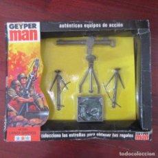 Geyperman: COMPLEMENTOS GEYPER MAN EN SU CAJA ORIGINAL. Lote 155698398
