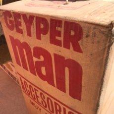Geyperman: CAJA DE GEIPER MAN 10 CAJAS DE ACCESORIOS TIENDA DE OPERACIONES 10 BLISTER NUEVOS. Lote 157125638
