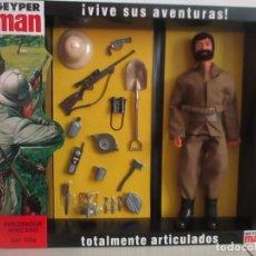 Geyperman: GEYPERMAN EXPLORADOR AFRICANO REEDICIÓN 2ª GENERACION, ¡¡¡NUEVO A ESTRENAR!!!!. Lote 157132982