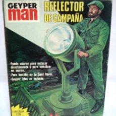 Geyperman: GEYPERMAN: REFLECTOR DE CAMPAÑA. ¡¡NUEVO!! CAJA ORIGINAL EN PERFECTO ESTADO. AÑOS 70.. Lote 157960734
