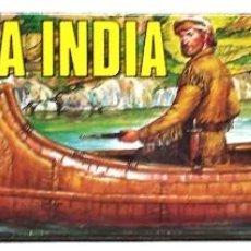 Geyperman: GEYPERMAN CANOA INDIA NUEVA Y EN SU CAJA ORIGINAL. AÑOS 70. . Lote 160179374