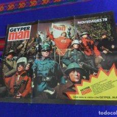 Geyperman: CATÁLOGO GEYPERMAN NOVEDADES 78 ORIGINAL. GEYPER. . Lote 161661486