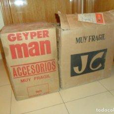 Geyperman: ÚNICA, CAJA PRECINTADA GEYPERMAN 10 BLISTER TIENDA DE OPERACIONES. REGALO CAJA JECSAN 28 BLISTER.. Lote 164925732