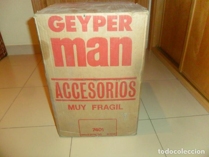 Geyperman: ÚNICA, CAJA PRECINTADA GEYPERMAN 10 BLISTER TIENDA DE OPERACIONES. REGALO CAJA JECSAN 28 BLISTER. - Foto 2 - 164925732