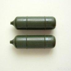 Geyperman: GEYPERMAN - LOTE DE 2 ANTIGUAS BOMBONAS LANZALLAMAS REF 7308 . Lote 166645362