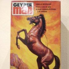 Geyperman: GEYPERMAN CABALLO ARTICULADO -REF. 7410- NUEVO, EN SU CAJA ORIGINAL. Lote 168140584