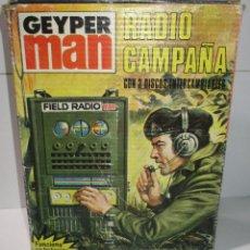 Geyperman: GEYPERMAN ORIGINAL, RADIO DE CAMPAÑA, CON CAJA. Lote 171052674