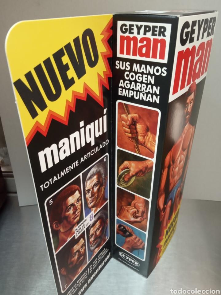 Geyperman: Caja Maniquí Geyper Man Vacía Reedición - Foto 4 - 171112554
