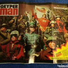 Geyperman: CATALOGO FOLLETO ORIGINAL GEYPERMAN NOVEDADES 1978. Lote 172580428