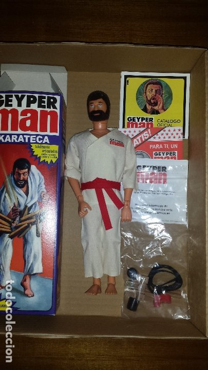 GEYPERMAN KARATEKA (Juguetes - Figuras de Acción - Geyperman)